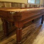 Solid Walnut Heirloom Manchester Shuffleboard Table