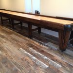 Heirloom Legacy Shuffleboard Table - Solid Chestnut
